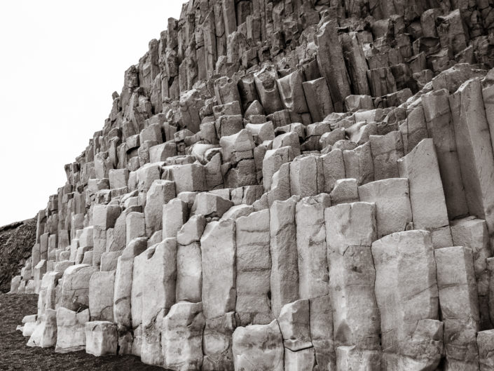 Basalt columns in Vík