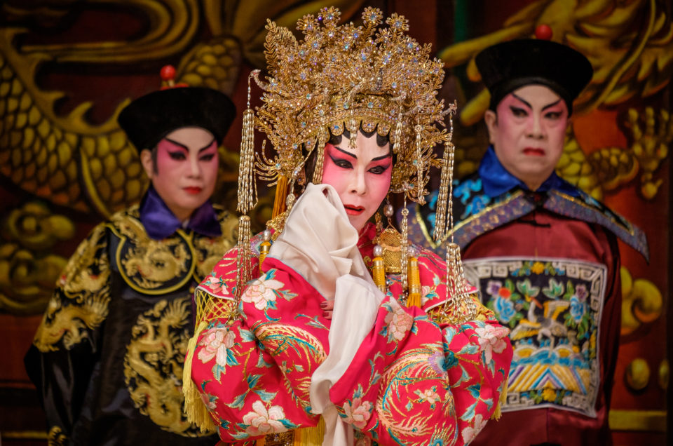 Photographing a Cantonese Opera—Princess Cheung Ping