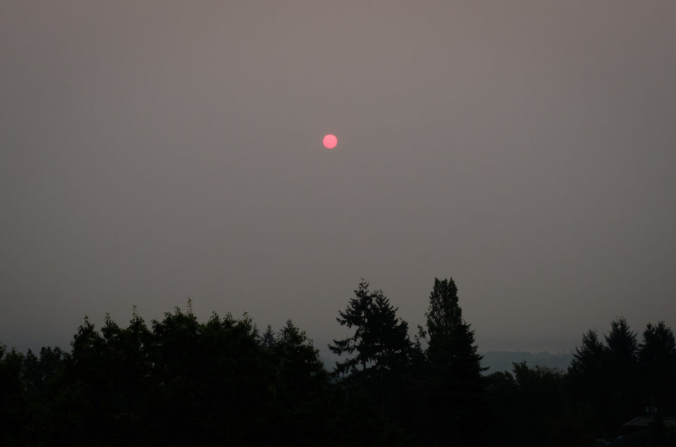 A Hazy Sunrise
